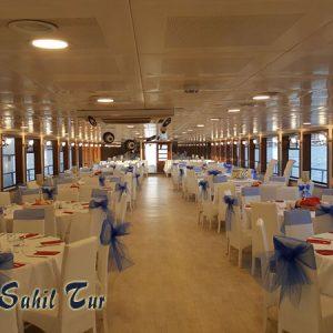 18 nolu Kiralık Tur Teknesi