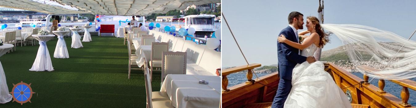 Teknede Düğün – Nikah – Nişan